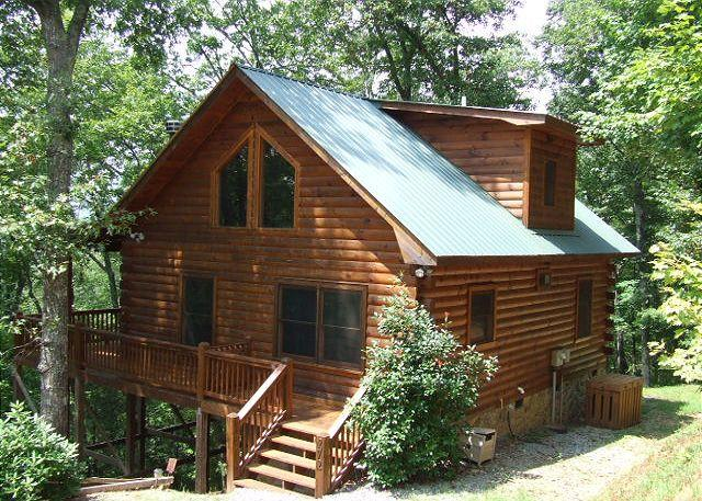 VIEW OF CABIN - FALLING LEAVES - Cherry Log - rentals