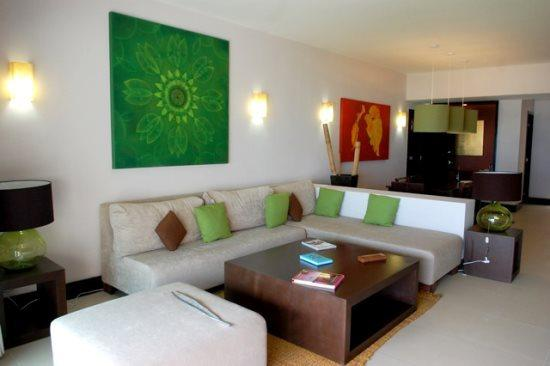Aldea Thai Penthouse Mamitas - Living and dining room - Playa del Carmen vacation rentals - Aldea Thai PH Mamitas - Playa del Carmen - rentals