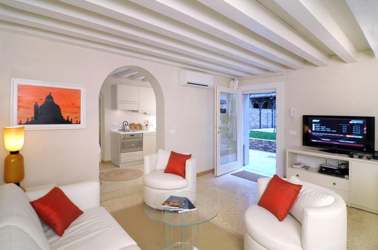 The living room - Ca' Delle Rose - Venice - rentals