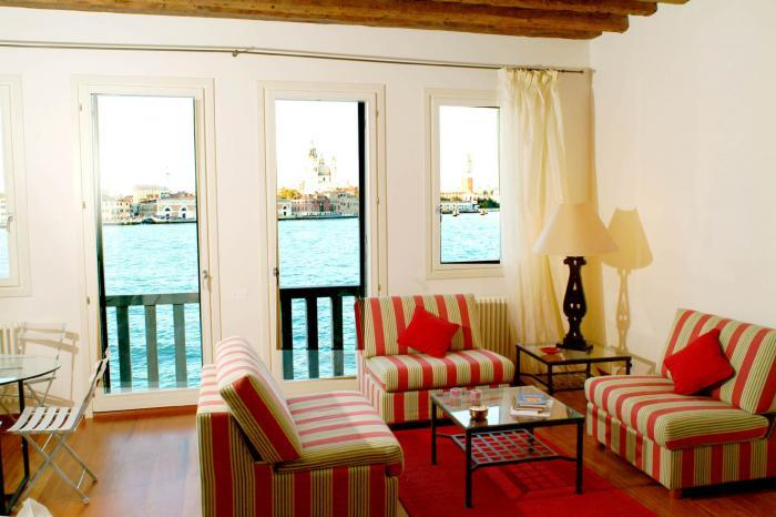 The living and dining room - Ca' Redentore 2 - Venice - rentals