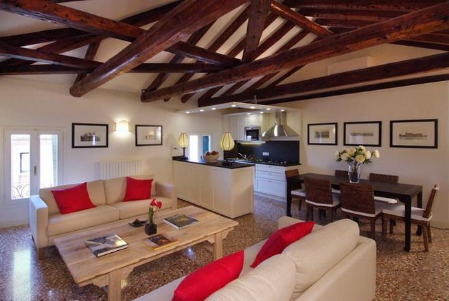 The main living area - Ca' San Sebastiano - Venice - rentals