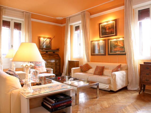 The comfortable living room - Ca' Soranzo - Venice - rentals