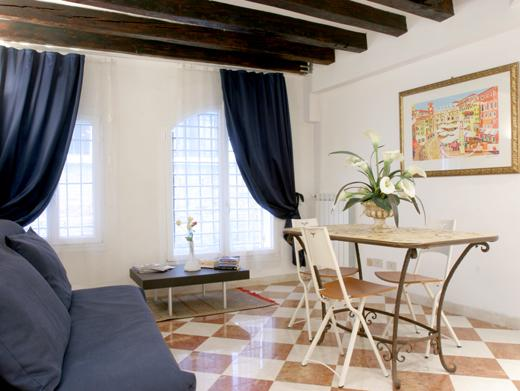 The living area - Ca' Vitturi - Venice - rentals