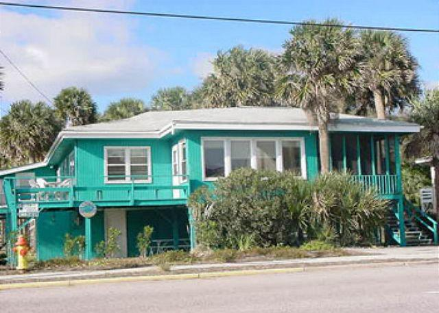View of House - Foster's Ocean View - Ocean Views & Pet Friendly - Edisto Island - rentals