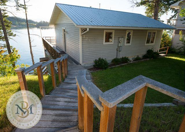 Enjoy the incredible Flathead Valley from this 3 level Somers Home! - Image 1 - Somers - rentals