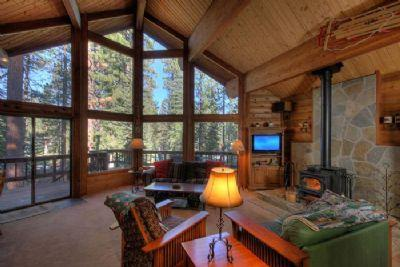 Fairway Family Cabin**On the Golf Course!** - Image 1 - Truckee - rentals