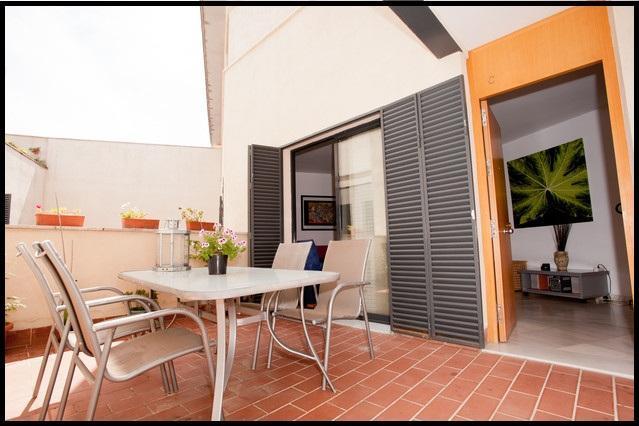 2Br Terrace Patio, Wifi, Parking(HEART of SEVILLE) - Image 1 - Seville - rentals