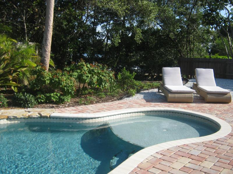 Pool Side - C-view Florida, Canal/Dock/Heated Pool/Near Gulf - Anna Maria - rentals