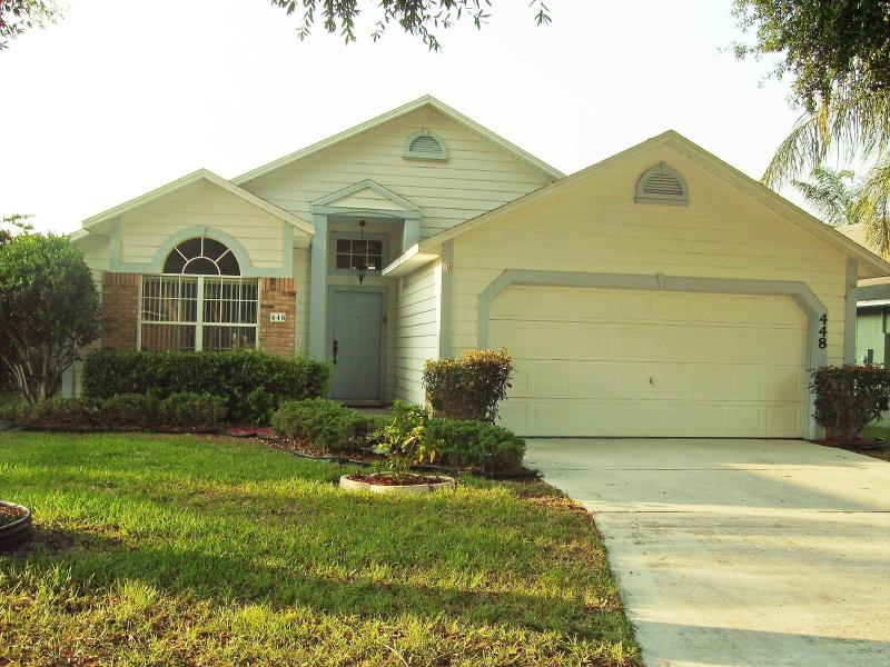 House front - Lovely Vacation Home Rental, Davenport/ Disney - Davenport - rentals