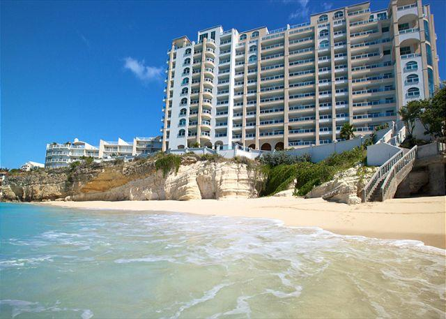 The Cliff's secluded beach - The Cliff at Cupecoy 10th Floor * PF10*-Stay 7 pay 6 - Saint Martin-Sint Maarten - rentals