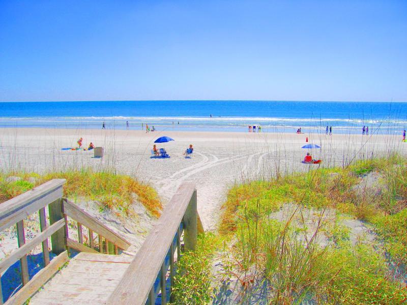 #OceanVillageClub Beach Access Condos Copyright #Anneflovc - BEST BEACH ISLAND RESORT 2 POOLS TENNIS #J32 WIFI - Saint Augustine Beach - rentals