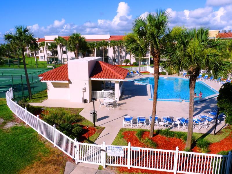 Ocean Village Club J32 View of Heated Pool Copyright #Anneflovc - Best BEACH Location Pools, WIFI, G33 Ocean Village - Saint Augustine - rentals