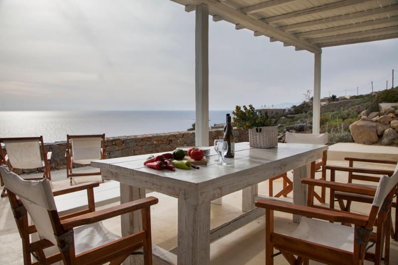 Plan B Holidays Villa in Kalo Livadi beach Mykonos - Image 1 - Mykonos - rentals