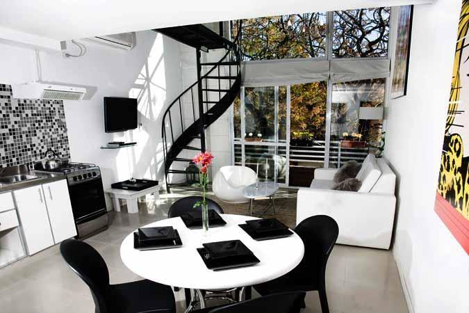 1 bedroom condo with terrace-Palermo Soho-blue-vio - Image 1 - Buenos Aires - rentals