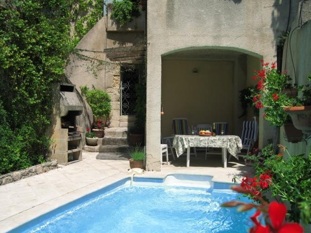 Cote Piscine - Charming 3 Bedroom Vacation Home Next to Moulin, Merindol, Luberon, Vaucluse - Merindol - rentals