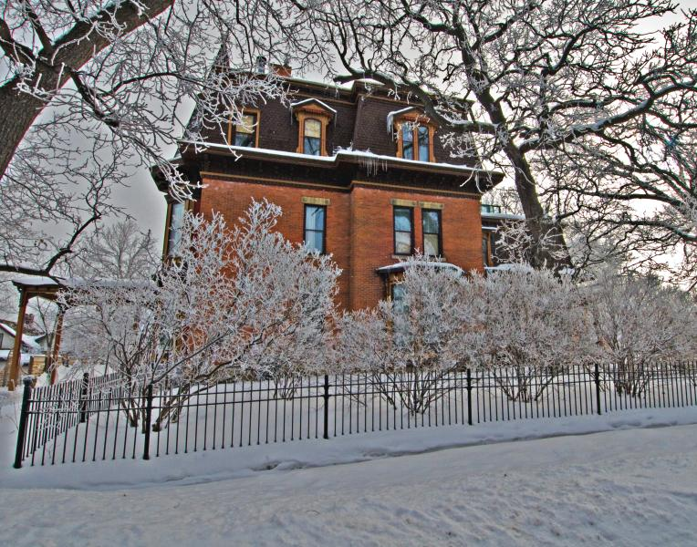 Third floor of 1880 mansion is Penthouse condo - Rivertown Luxury Historic Private Condo - Hastings - rentals