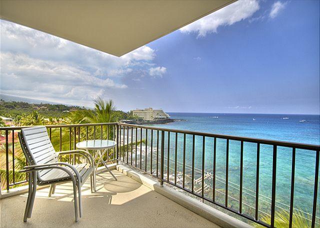 2 bedroom 2 bath Ocean front Penthouse at Kona Alii - Image 1 - Kailua-Kona - rentals