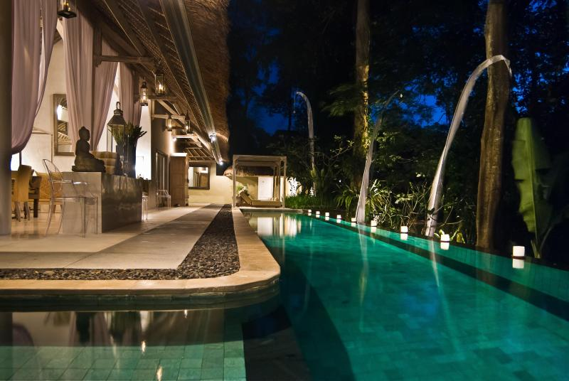 SUNGAI  looking to 3 guest bedrooms - VILLA SUNGAI five star luxury private villa Bali - Canggu - rentals