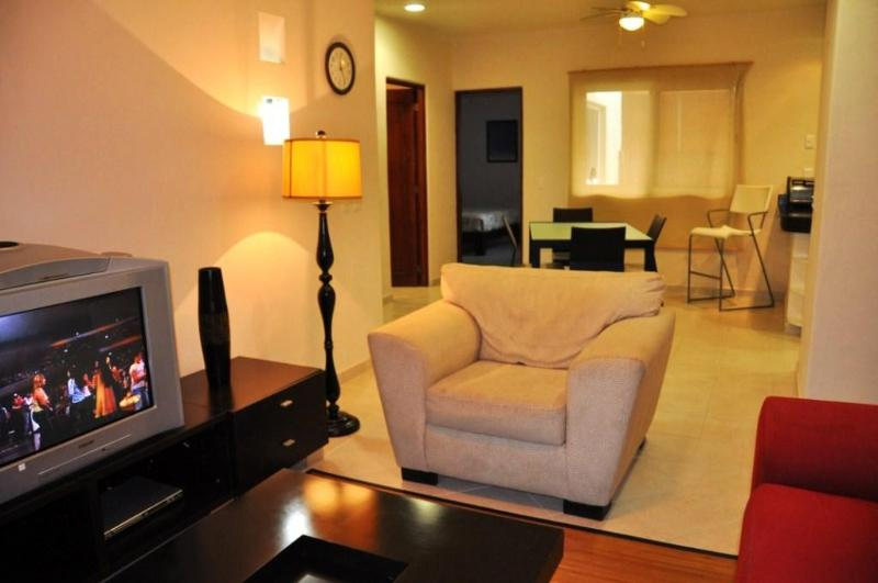 Livingroom area - 2 Bed in the Heart of Playa Del Carmen - PK20 - Playa del Carmen - rentals