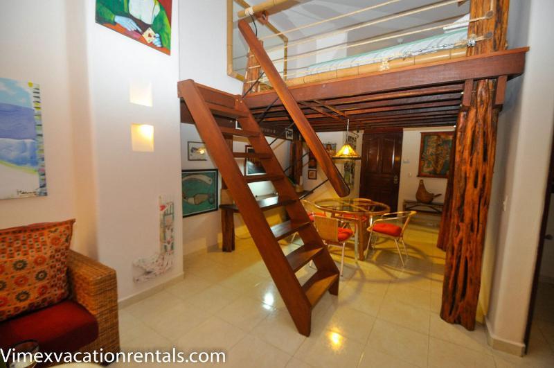 Loft area PK07 - Loft captures the spirit of Playa del Carmen -PK07 - Playa del Carmen - rentals
