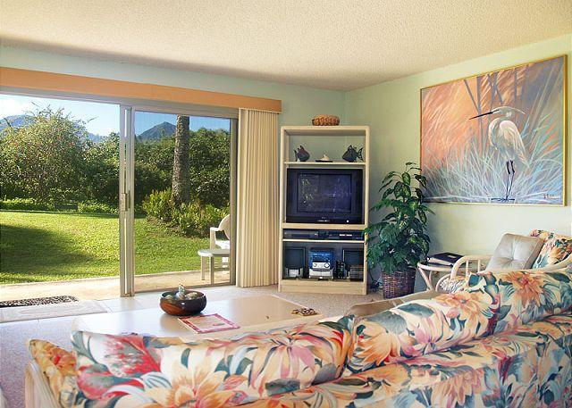 Alii Kai 2101:Ocean and mountain views, lovely corner location, well-equipped - Image 1 - Princeville - rentals