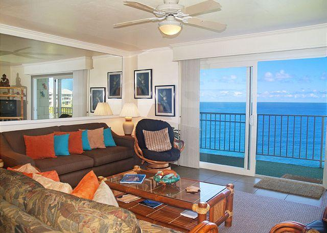 Alii Kai 5304: Fabulous view, lots of extras, top floor corner + oceanfront! - Image 1 - Princeville - rentals
