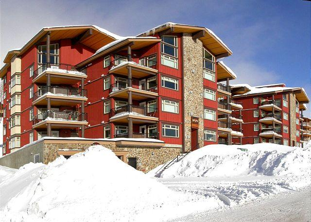FRONT ELEVATION - Raven 106 Happy Valley Location Sleeps 9 - Big White - rentals