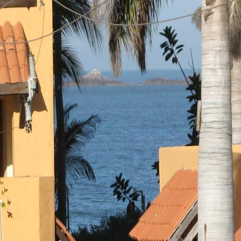 Amazing balcony view - GOLDEN ZONE !  GORGEOUS 2 BEDRM ACROSS FROM BEACH - Mazatlan - rentals