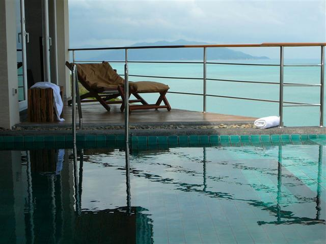 SPA Pool great place to just relax - Stunning Kayjonvilla overlooking Tongson Bay Pai L - Koh Samui - rentals
