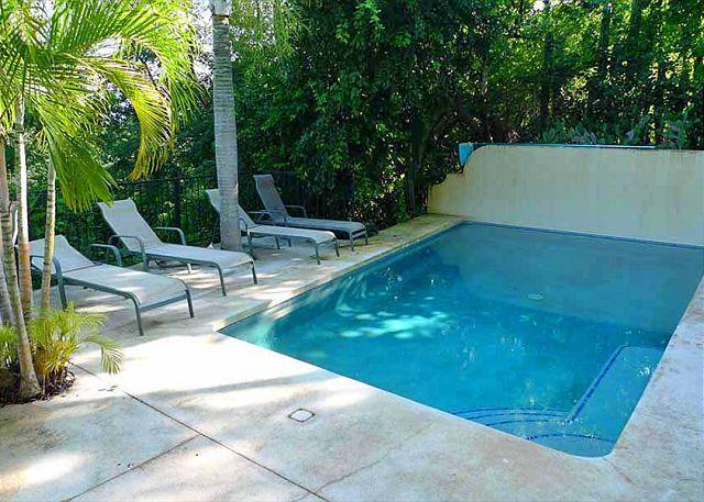 Pool - Cozy hillside condo oceanview, cable, kitchen, a/c, shared pool - Tamarindo - rentals