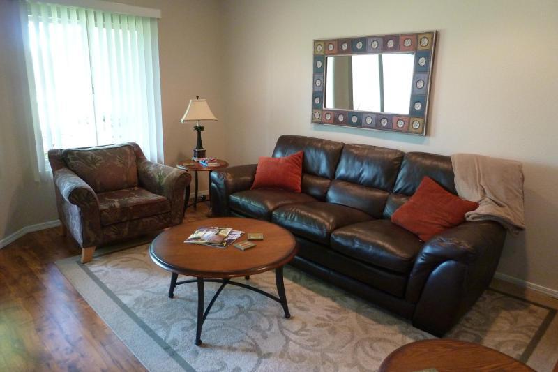 Living Room w/Golf Course View - Blacklake Golf Condos - Many Happy Returnees! - Nipomo - rentals