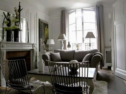Chic Condo Apartment at Rue Quentin Bauchart in Paris - Image 1 - Paris - rentals