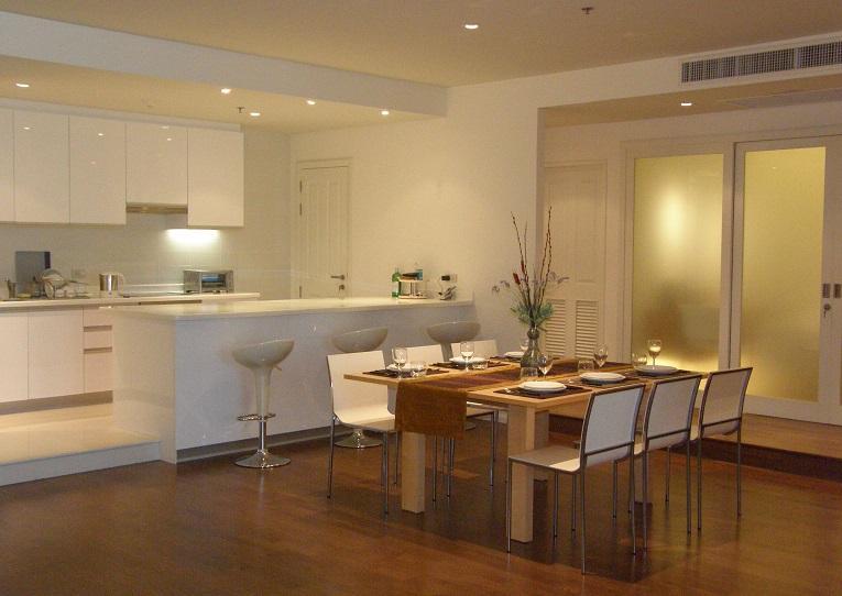 3 BR apartment by river, great view & facilities - Image 1 - Bangkok - rentals