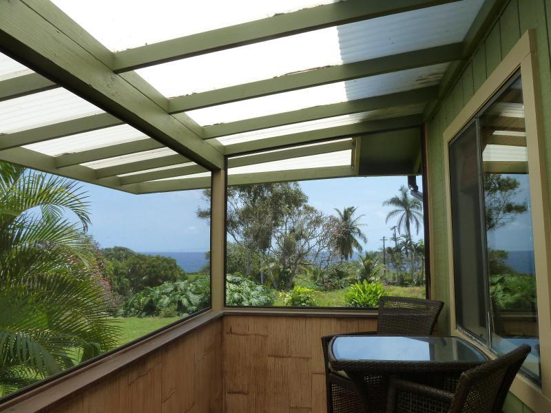 View from the lanai - Hana Paradise Cottages, Hale Nanea - Hana - rentals