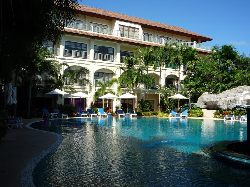 Full Swimming Pool views - Luxurious Upgraded 2 Bedroom Apt with Pool Views - Bang Tao Beach - rentals