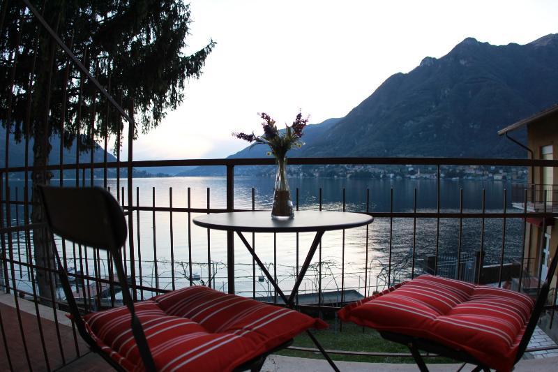 Gorgeous Private Balcony Views at the Lake Como Beach Resort Villas - BEACHFRONT -  Villa Vista Lago -  Lakefront Views - Como - rentals