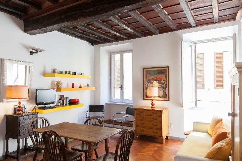 living-room - Apartment Francesca in Navona Square Area - WIFI - Rome - rentals