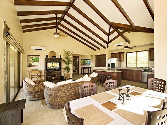 Living & Dining Area - Villa Catalina Townhome 16 - Playa Flamingo - rentals