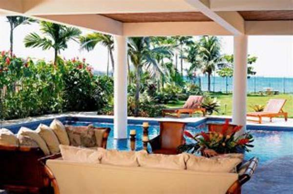 Exterior Living Room Next to Pool - Villa Copa Cabana - Playa Flamingo - rentals