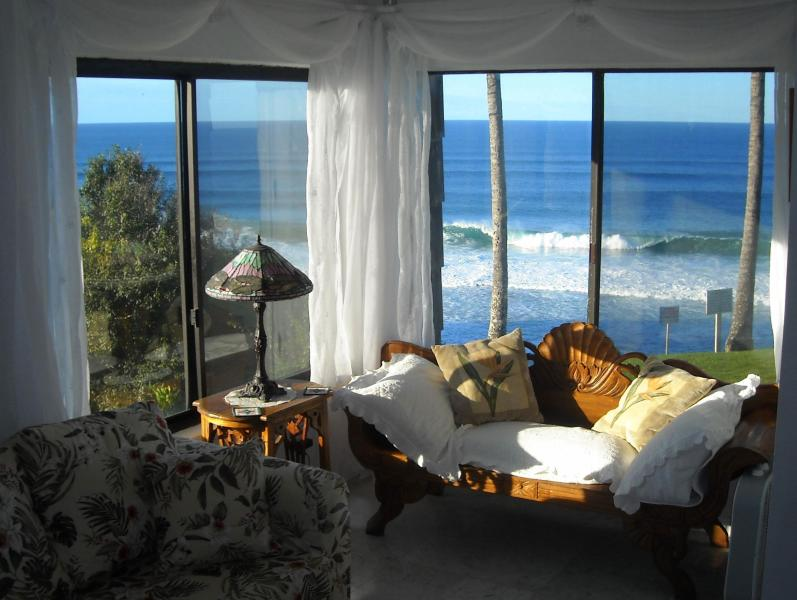 Living Room Ocean View - Sea Lodge #A2 - Princeville Resort - Kauai - Princeville - rentals