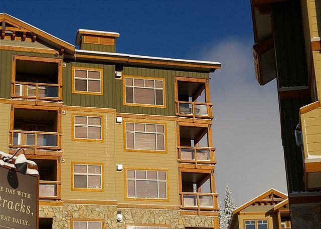 VIEW OF BALCONY - Aspens 412 Top of Porcupine Road Location Sleeps 6 - Big White - rentals