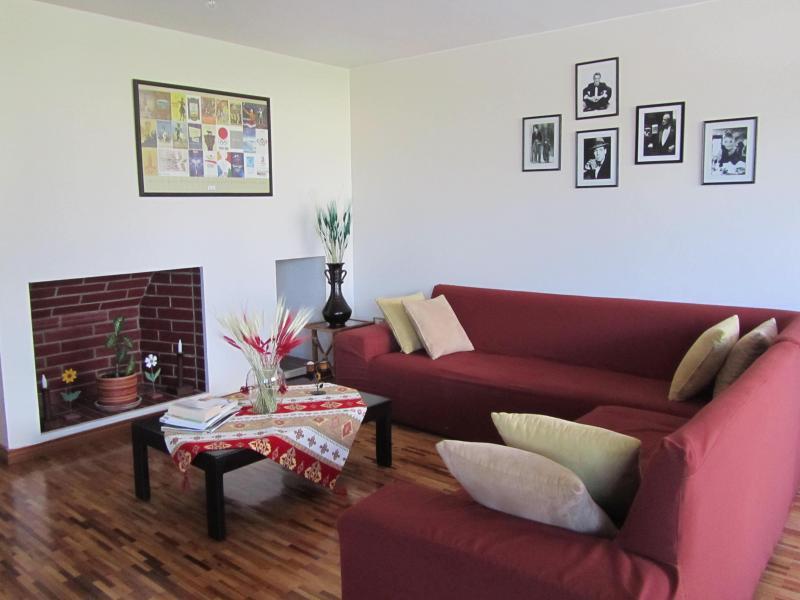 living room - Stylish apartment  best views .La Carolina - Quito - rentals