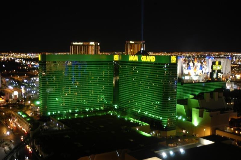View from balcony of South LV Strip - Rental by Owner Direct-Signature 2BD2BA JLYSPECIAL - Las Vegas - rentals