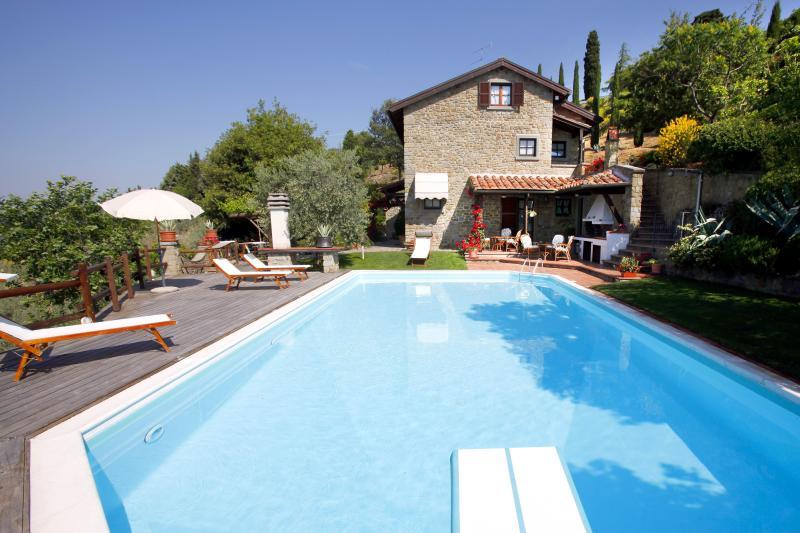 Villa la Foce: breathtaking panoramic view - Image 1 - Castiglion Fiorentino - rentals