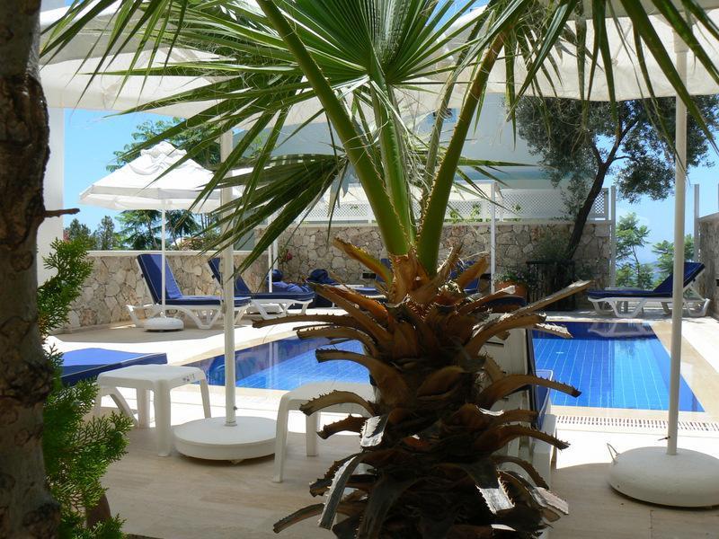 Villa Katmar, Pool and sun terrace - Villa Katmar, - Kalkan - rentals