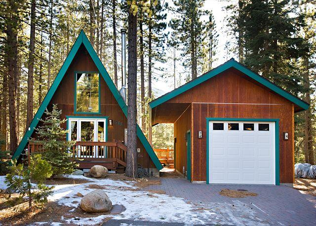 Tahoe, Oglala, Exterior with garage - Oglala Cabin. So popular it needs no other description. - South Lake Tahoe - rentals