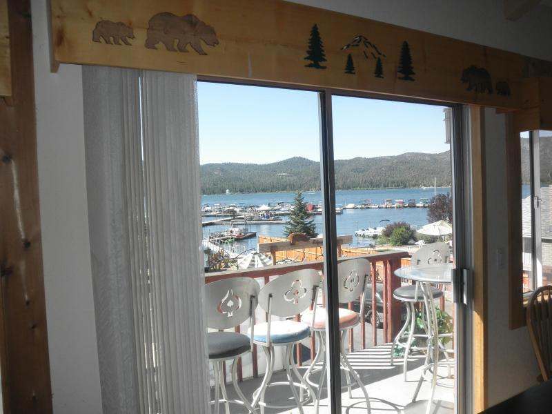 Our Lake View  Condos Units 51 to 59, are next to the village and on the lake. At CabinsForLess Of - cabins4less . com The no fee leader - Big Bear Lake - rentals