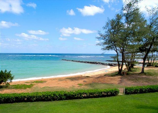 Oceanfront air-conditioned and newly remodeled.   Perfect for whale-watching! - Image 1 - Kapaa - rentals