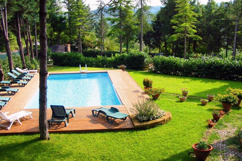 The swimming pool and manicured garden - 110+ REVIEWS on TRIPADVISOR... 2 GITS x BOOKING - Florence - rentals