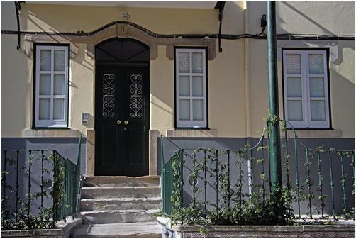 Main entrance - Vila Berta. Most charming location in Lisbon - Lisbon - rentals